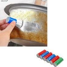 1 шт. стержень из нержавеющей стали, волшебная палочка для удаления ржавчины, щетка для мытья, щетка для протирания, горшок для ступицы колеса, Lron Pot, посуда CHIZIYO