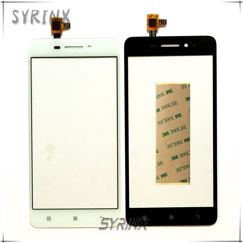 Syrinx With 3M Tape 5.0 Inch Touch Screen For Lenovo S 60 S60 S60-T S60-w Touchscreen Front Glass Lens Panel Digitizer Sensor
