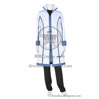 Fairy Tail Gray Fullbuster Cosplay Costume Full Set Anime Uniform T shirt Outfits Trench Coat Halloween Party Fast Shipping