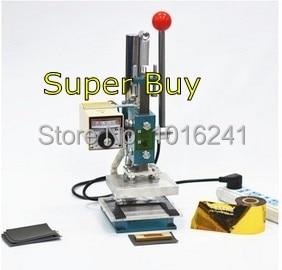 Neue Heißfolienprägemaschine Lederprägemaschine 2 in 1 (10x8cm) - Büroelektronik - Foto 3