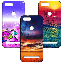 For Leagoo KIICAA Power Colored Drawing Cartoon Fundas Soft Silicone Cover Case for Printed Phone