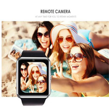 Smart Watch Men GT08 With Touch Screen Big Battery Support TF Sim Card Camera For IOS iPhone fashion