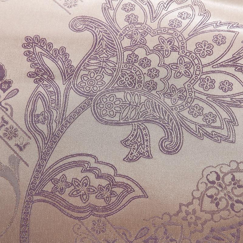 Europa Style Jacquard Sengetøj Sæt 4 / 6stk. Lace Bedclothes - Hjem tekstil - Foto 3