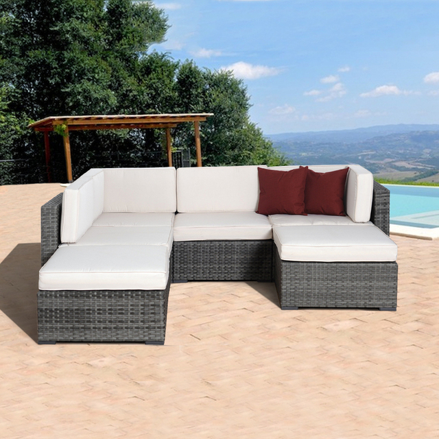 2017 New Classic Bali Synthetic Rattan Outdoor China Garden Furniture