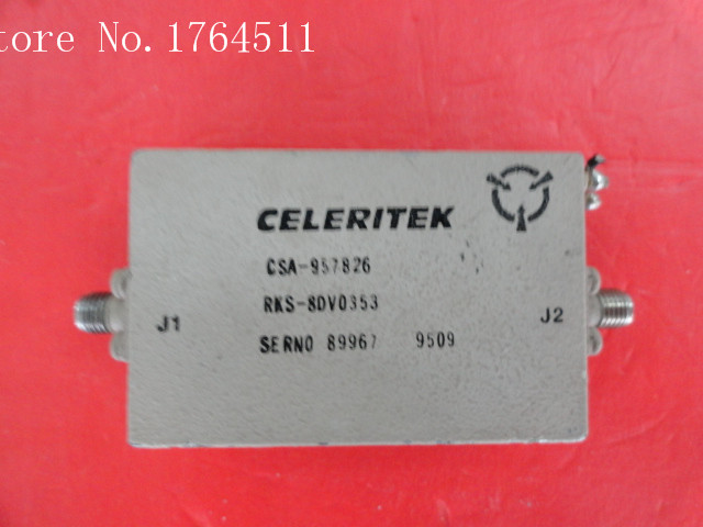[BELLA] CELERITEK CSA-957826 15V SMA Supply Amplifier