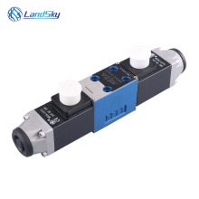 hydraulic directional control valve hydraulic solenoid valve electric over hydraulic spool valve 24 volt 4WE5J6.0/AG24NZ5L 4WE5J цена