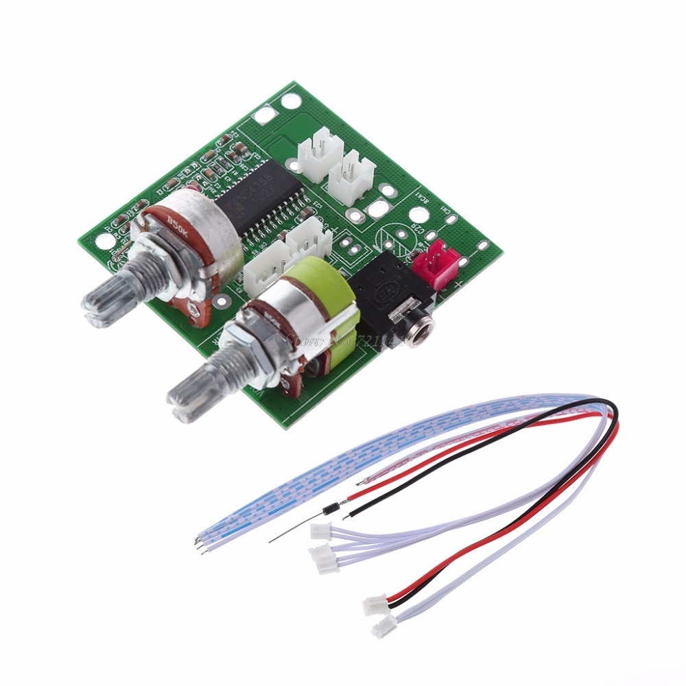 5V 20W 2.1 Dual Channel 3D Surround Digital Stereo Class D Amplifier AMP Board Dropship image