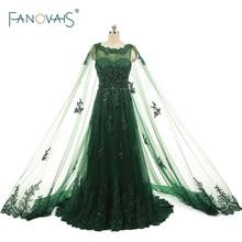 Реальные фото Величины вечерних платьев для вечеринок vestido de noite caftan dubai Green Elegant Cheap Long Prom Dress ASAE29