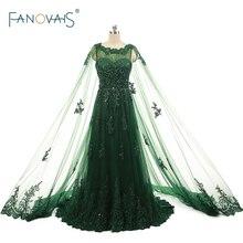 Foto reali abiti da sera abiti da sera abiti da notte caftano dubai verde elegante economici lunghi prom dress ASAE29