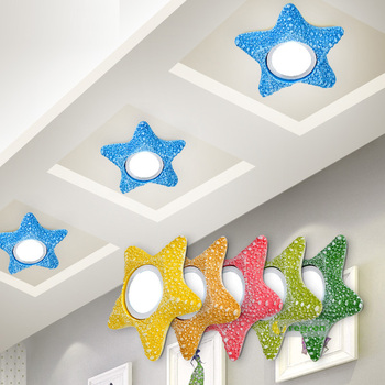 Kid\'s bedroom LED star Ceiling Lights Embedded Children\'s ...
