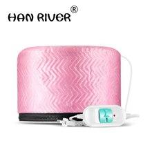 220-250V 3 strength Hair Care stalls baking oil cap steaming hot hat hair salon heating membrane electric cap J2184