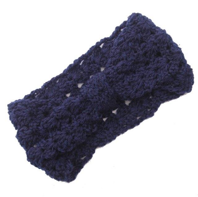 Tienda Online Cable de punto diadema, diadema Lana, mano knit ...