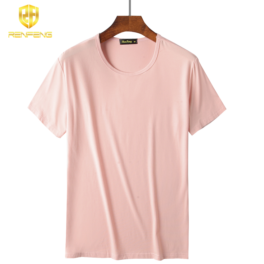 2018 Men Boy Body Compression Base Shirt 95% Bamboo Fiber Short Sleeve Summer Vest Thermal Under Top Tees Fitness Undershirt men (2)