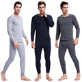 Hot Pajamas Winter Warm Thermal Underwear Mens Long Johns Sexy Black Thermal Underwear Sets Thick Plus Velet Long Johns For Man