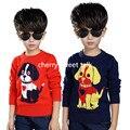 Camisolas do cão de venda quente das crianças qualidade de hedge de menino e menina camisola de malha camisola das crianças, camisola do menino