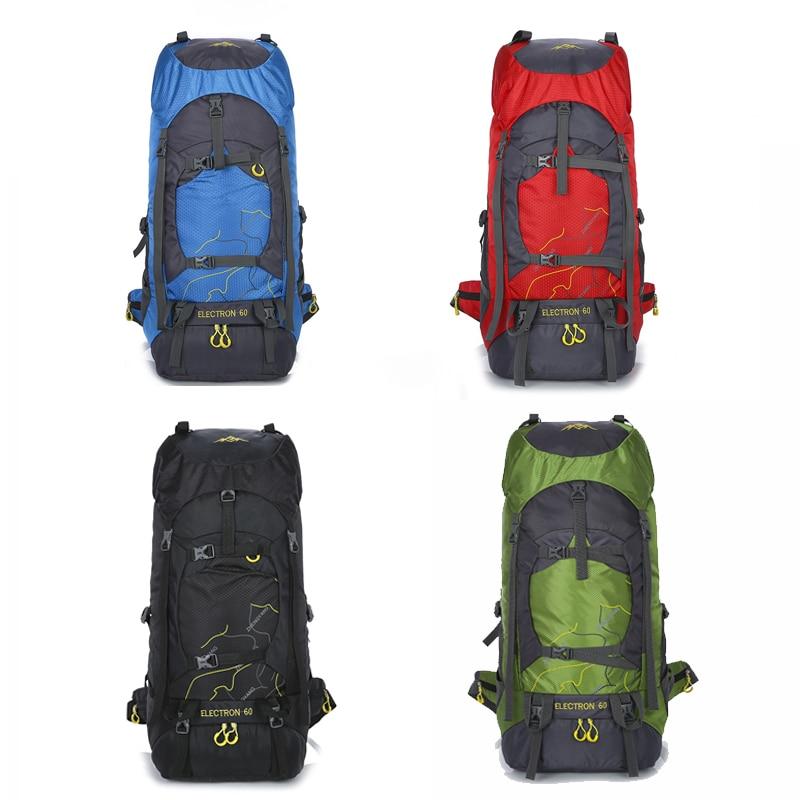 2018 Travel Backpack Sports Bag Beach 60L Waterproof Hiking Backpacks Women Camping Supplies Backpack Camping Equipment Bags 3