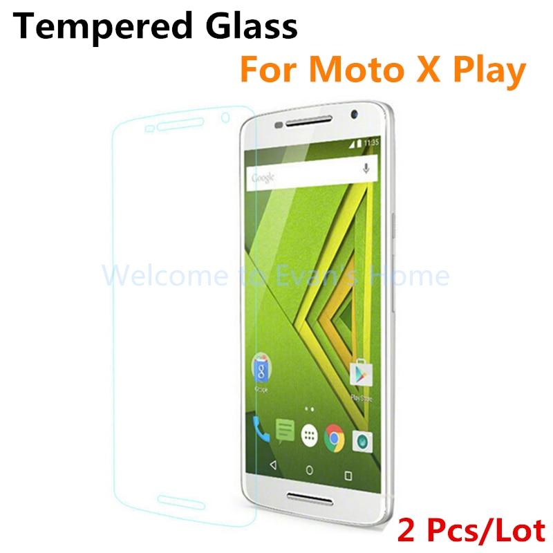 Moto X Için 2 adet Motorola Moto X Oynamak Için Xplay Temperli Cam - Cep Telefonu Yedek Parça ve Aksesuarları - Fotoğraf 1