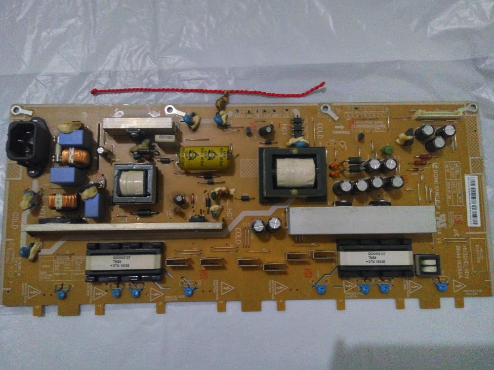 Bn44-00289a Bn44-00289b T-CON Connect Connect With Power Supply Board Video