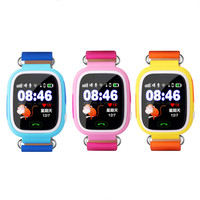 1.22 inch Color Touch Screen Q90 GPS Child Smart Watch Phone Position Kids Watch WIFI SOS Smart Watch Baby