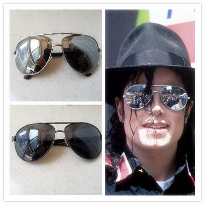 8310f3192053a placeholder Michael Jackson Cosplay Glasses MJ Accessories Smooth Criminal  Dangerous Yurt Glasses