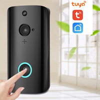 New Arrival FHD 1080P Outdoor Tuya App Platform Battery Powered Ring Smart WiFi Enabled Video Doorbell Camera PIR Detection