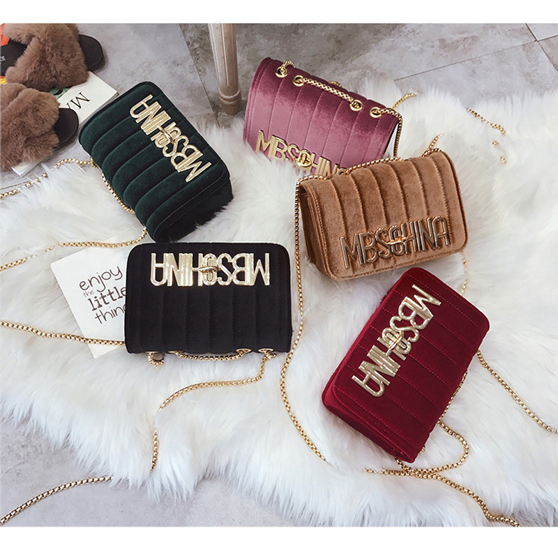 2018 Spring New Fashion Handbag Plaid Luxury Decorative Wild Trend Shoulder Messenger Bag Woman Bag Small Square Package Chain