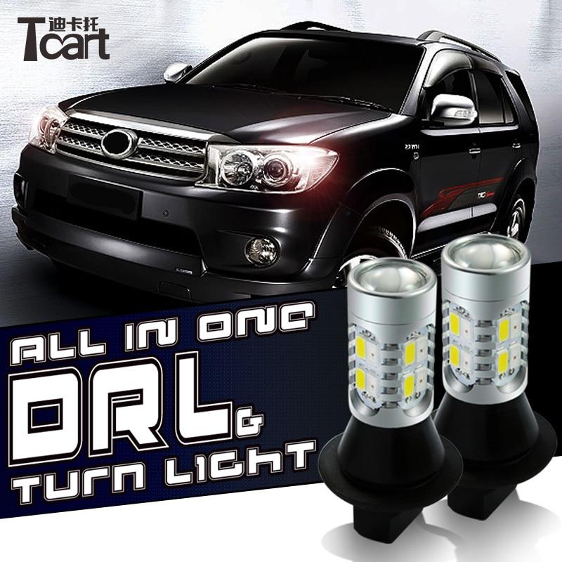 Tcart για το Nissan Juke DRL PY21W BAU15S Ημερήσια - Φώτα αυτοκινήτων - Φωτογραφία 6