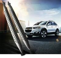 Для Chevrolet Captiva 2015 2017 автомобилей Бег Панели Авто шаг в сторону Бар Педали для автомобиля нового продукта oem