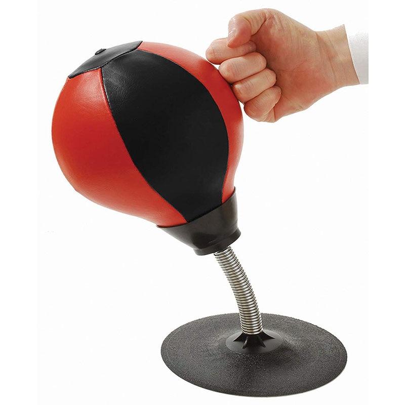 Sport Punching Speed Ball Bag Relief Stress Desktop Stand Boxing Balls Training
