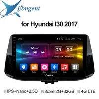 Для hyundai i30 2017 2018 автомобильный Интеллектуальный мультимедийный Радио стерео видео плеер автомобильного gps навигатора Pad DVD Компьютер DVR TPMS