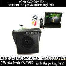 Парковка задним ходом SONY CCD камера заднего вида для BUICK ENCLAVE GMC YUKON TAHOE пригородная с 4.3 » автомобиль зеркало заднего вида