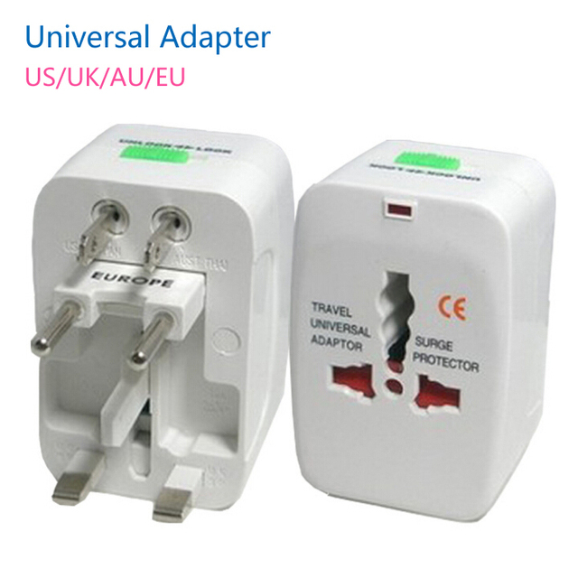 5pcs Lot World Universal Ac Converter Adapter Plug Eu Us Uk Au Extension International Travel Adaptor
