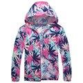 2017 Moda Primavera Dos Homens do Estilo Da Praia do Verão Colorido Cópia Floral Trench Coats Plus Size 9XL Rapidamente Seco Roupas de Marca S2766
