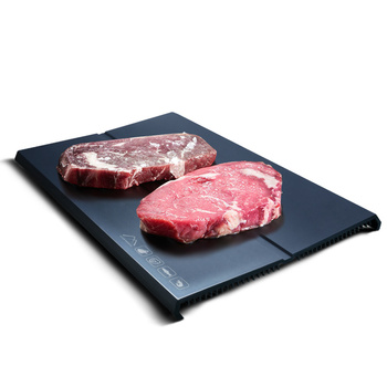 Household Fast Defrosting Trays Thawing Plate Seafood Meat Steak Rapid Thawing tray
