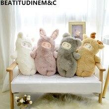 Room-Decor Deer Toy Unicorn Plush Bear Appease-Doll Birthday-Gift Animal Rabbit Children's