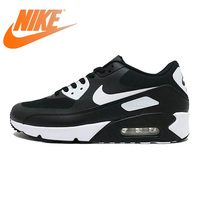 Original NIKE AIR MAX 90 ULTRA 2.0 Men's Running Shoes Sneakers Breathable Sport Outdoor Men Sneakers Black and White875695 008