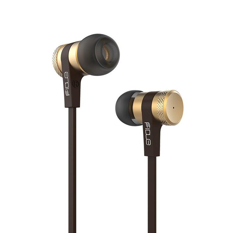 Fidue A33 HiFi A33 High-End Dynamic In Ear HIFI Monitor DJ Studio Stereo Music Earphones Earbuds w/ Mic For iPhone Samsung HTC