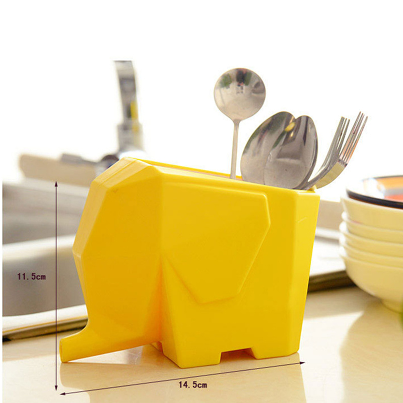 Creative Tableware Drainer Chopsticks Toothbrush Storage Holder Organizer Box Plastic Container Rack Kitchen accessory dropship