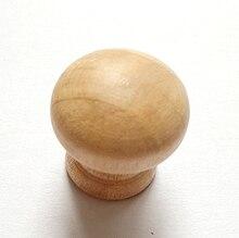 100 stücke 2,0 CM * 1,9 CM Holz Griff Kleine Schublade Schrank Tür Griffe Spielzeug Möbel Beine DIY