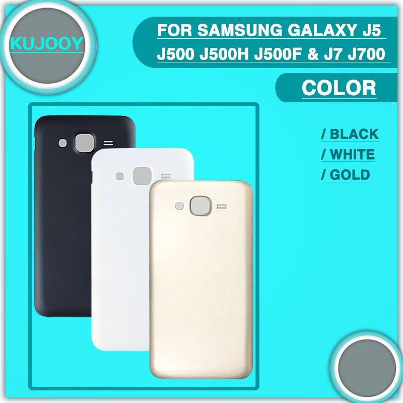 10 шт. Новый <font><b>j500</b></font> j700 сзади Батарея чехол для Samsung Galaxy J5 <font><b>j500</b></font> J500H j500f и J7 j700 2015 Батарея дверь задняя Корпус