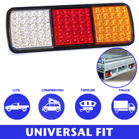 University Fit 1 Pair 75 LEDs Tail Lights Stop Indicator 12V Trailer Truck Boat Lamp Highly styled optical design DXY88