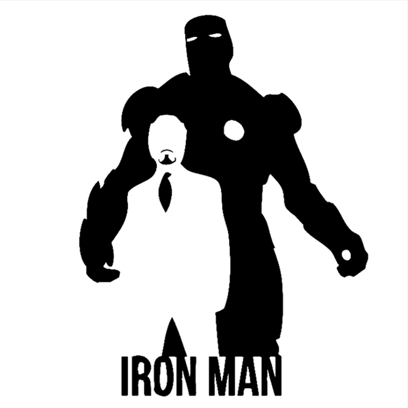 Iron Man Car Sticker 20 15cm Motorcycle Decals Car