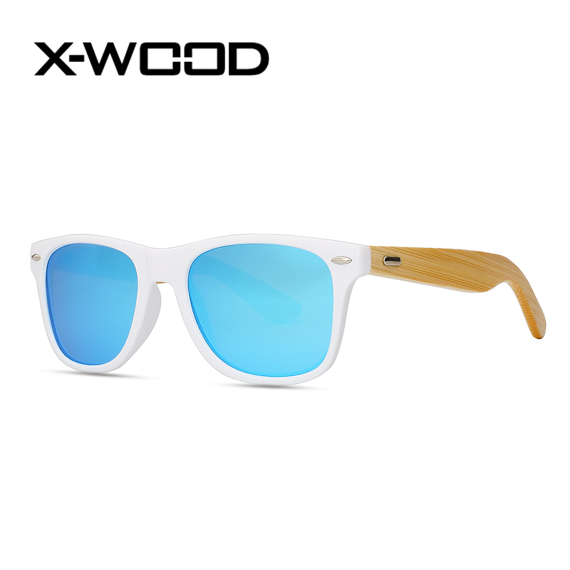 X WOOD Fashion Classical Polarized Sunglasses Men Women Multi color Brand Designer Sunglasses Oculos Masculino font