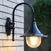 Waterproof lamp outdoor wall lamp rustic wall lights outdoor balcony fashion speaker wall lamp aluminum arcylic