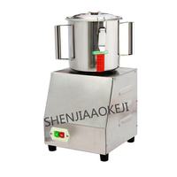 1pc Multifunctional Meat Grinder shredder 1400 r/min Small cut vegetables Processor commercial food grinder 220V 0.75kw