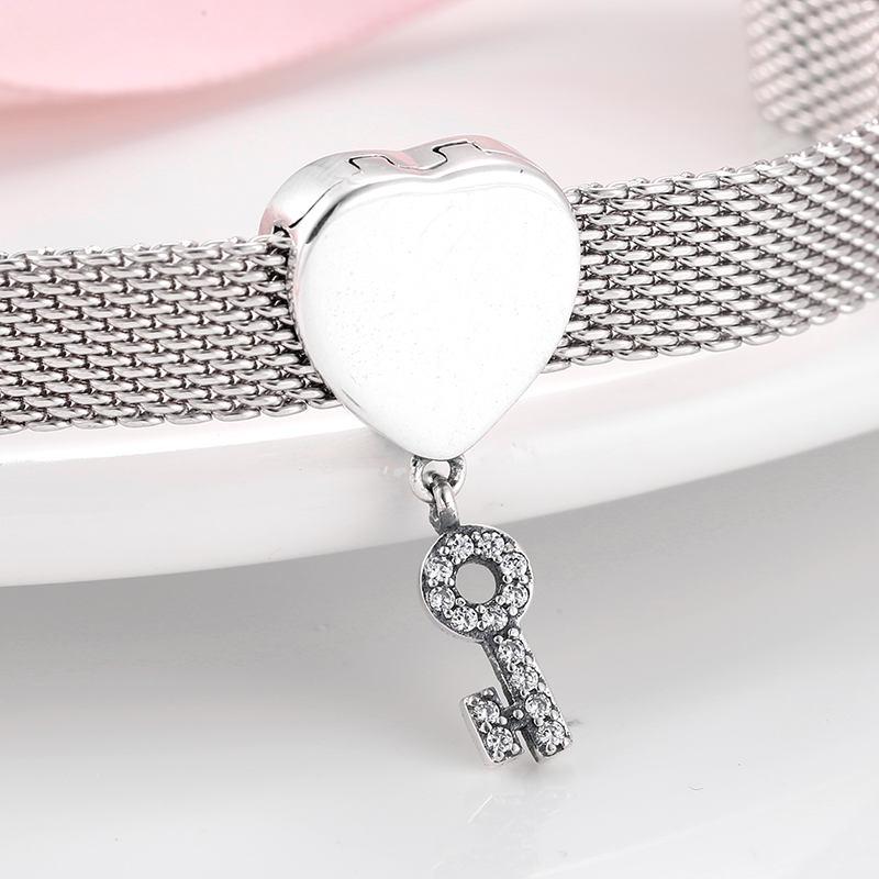 FB Jewels Solid 925 Sterling Silver Reflections Angel Bead