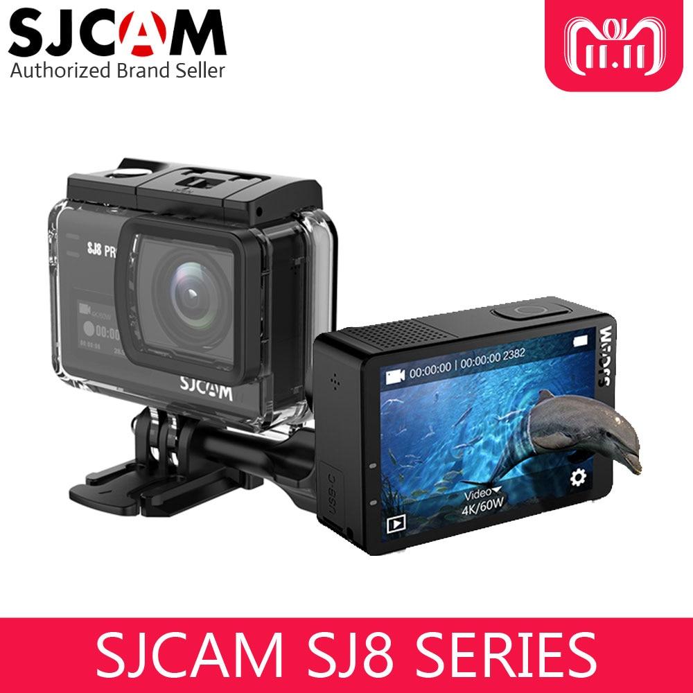 SJCAM SJ8 серии Экшн-камера SJ8 PRO 4 К к 60fps сенсорный экран со стабилизатором wifi 1200 мАч батарея водостойкая Спортивная камера