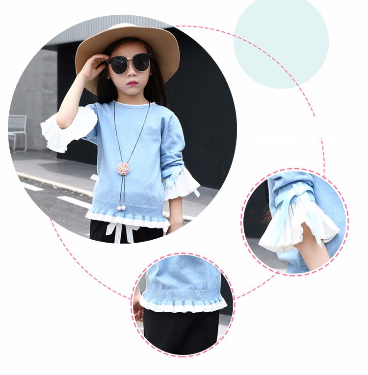 knitting little teenage girls clothes suits autumn 2016 children clothing set for girl pink blue knit sweater tops long sleeve black skirts clothes set 2016 6 7 8 9 10 11 12 13 14 15 16 years old big girl 2 pcs clothing sets (17)