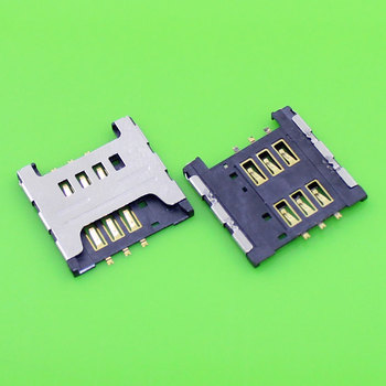 1 Piece Replacement for Samsung I9000 I9220 N7000 S5690 W689 S5360 S5570 sim card socket tray slot holder connector.KA-033 image