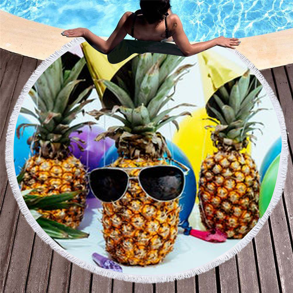 Round Beach Towels For Women Gift